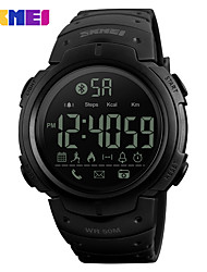cheap -SKMEI Men's Smart Watch TopBrand Fashion Sport Clock Pedometer Remote Camera Calorie Bluetooth Smartwatch Reminder Digital Watch