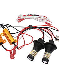 cheap -Car LED Daytime Running Lights / Turn Signal Lights BAU15S Light Bulbs For Volkswagen / Toyota / Honda All years 2pcs