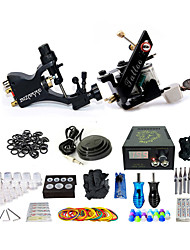 cheap -BaseKey Professional Tattoo Kit Tattoo Machine - 2 pcs Tattoo Machines, Professional / Best Quality Aluminum Alloy 19 W 1 copper machine liner & shader / 1 rotary machine liner & shader