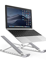 cheap -Portable Foldable Adjustable Laptop Stand Holder Universal Ergonomic Aluminium Alloy Travel Mini Notebook Stand For Macbook2020 Notebook Computer Pc