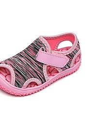 cheap -Girls' Comfort Canvas Sandals Little Kids(4-7ys) Purple / Green / Blue Summer