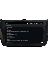 Недорогие -10,2-дюймовый 4-граммовый Ram Octa Core Android 8.0 автомобильный DVD-плеер GPS-навигации для Tiguan 2016-2017