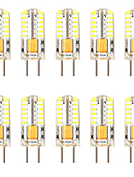 cheap -10pcs 3 W LED Corn Lights LED Bi-pin Lights 300 lm GY6.35 T 48 LED Beads SMD 3014 Dimmable New Design Warm White White 12-24 V