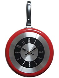 cheap -Wall Clock,Modern Contemporary Fashion Stainless steel Round Indoor