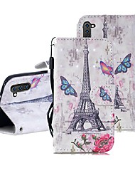cheap -Case For Samsung Galaxy Note 9 / Note 8 / Galaxy Note 10 Wallet / Card Holder / Shockproof Full Body Cases Cartoon PU Leather