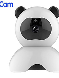 cheap -Panda Camera Pet Meng Guobao Child Care Device Home Security Camera Infrared Night Vision Wireless K-PA10 2 mp / 1 mp IP Camera Indoor Support 64 GB