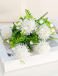cheap -Artificial Flowers 1 Branch Classic Modern Pastoral Style Hydrangeas Eternal Flower Tabletop Flower