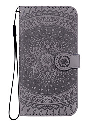cheap -Case For Huawei Applicable to Huawei P30/P30 Pro/P30 Lite/P20/P20 Pro/P20 Lite/Mate20/Mate20 Pro/Mate20 Lite Wallet Mandala Embossed Anti-fall Mobile Phone Case