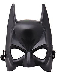cheap -Halloween Half Face Mask Black Masquerade Dressing Party Cosplay