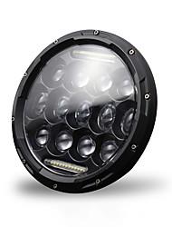 cheap -High Power H4/H13 7 Inch 300w Round LED Headlights Turn Signal Light White DRL