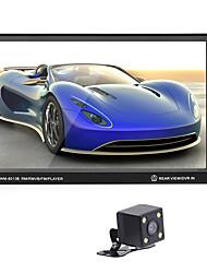 Недорогие -Автомобильный радиоприемник 7-дюймовый hd автомагнитола мультимедийный проигрыватель 2-din сенсорный экран автозвук стерео mp5 bluetooth aux usb tf fm камера заднего вида