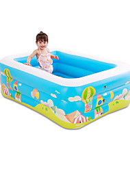 cheap -Water Play Equipment Kiddie Pool Inflatable Pool Intex Pool Inflatable Swimming Pool Kids Pool Water Pool for Kids Exquisite Comfy PVC (Polyvinylchlorid) Plastic Summer Creative Swimming 1 pcs All