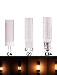 cheap -3pcs 3 W LED Corn Lights 300 lm E14 G9 G4 T 36 LED Beads SMD 2835 3D Firework 100-277 V