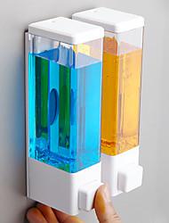 abordables -distributeur de savon de salle de bain suspendu ménage salle de bain désinfectant pour les mains presseur hôtel douche suspendu porte-bouteilles