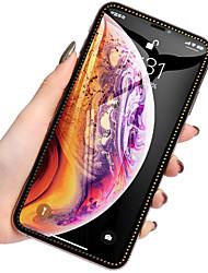 Недорогие -алмазное защитное стекло для экрана iphone xs max xr покрытие полного экрана защитное закаленное стекло на для iphone x xs