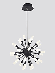 cheap -ZHISHU Cluster / Novelty Chandelier Ambient Light Painted Finishes Metal Acrylic LED, WIFI Control 110-120V / 220-240V Warm White / White / Dimmable With Remote Control