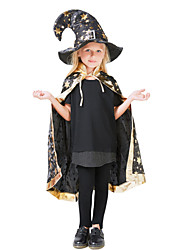 cheap -Inspired by Cosplay Hogwarts School of Witchcraft and Wizardry Anime Cosplay Costumes Japanese Cosplay Suits Cloak / Hat For Boys' / Girls'
