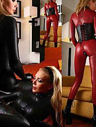 cheap -Women's Sexy Uniforms Sex Catsuit Solid Colored Leotard / Onesie