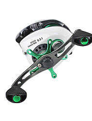 cheap -Fishing Reel Baitcasting Reel 9.3:1 Gear Ratio+11 Ball Bearings Right-handed / Left-handed Jigging Fishing / Freshwater Fishing / Carp Fishing