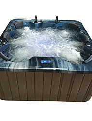cheap -Outdoor spa tub whirlpool Massage bathtubs 6 people Freestanding Jacuzzi