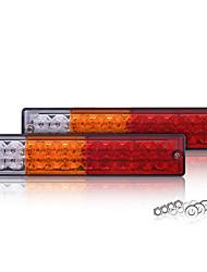 Недорогие -универсальный грузовик светодиодный боковой светильник овальной формы сигнальная лампа для прицепа