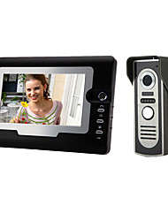 cheap -810M11 Wired 7 inch Hands-free 800*480 Pixel One to One video doorphone