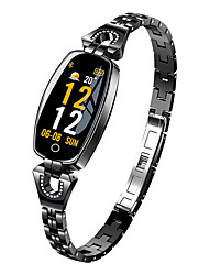 cheap -Smartwatch Digital Modern Style Sporty 30 m Water Resistant / Waterproof Heart Rate Monitor Bluetooth Digital Casual Outdoor - Black Gold Silver