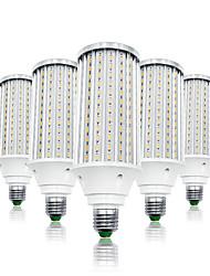 cheap -LOENDE 5pcs 80 W LED Corn Lights 8000 lm E26 / E27 T 216 LED Beads SMD 5730 Warm White White 85-265 V