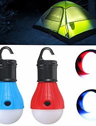 Недорогие -Походные светильники и лампы Мини Маленький размер 60 lm Светодиодная лампа излучатели 3 Режим освещения Мини Экстренная ситуация Маленький размер