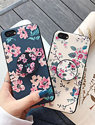 cheap -Case For Apple iPhone XS / iPhone XR / iPhone XS Max with Stand / Pattern Back Cover Flower TPU for iPhone X 8 8PLUS 7 7PLUS 6 6S 6PLUS 6SPLUS