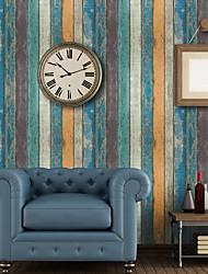 cheap -Wallpaper Vinylal Wall Covering - Self adhesive Art Deco / Wood Grain