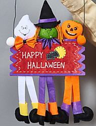 cheap -Holiday Decorations Halloween Decorations Decorative Objects Decorative Yellow 1pc