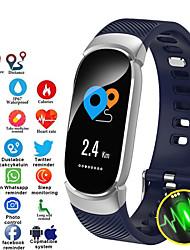 cheap -Women's Digital Watch Casual Fashion Black Blue Pink Silicone Digital Black Blushing Pink Blue Water Resistant / Waterproof Bluetooth Smart 30 m 1 set Digital