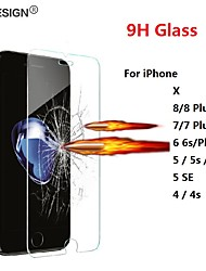 cheap -protecive glass for iphone x 8 7 6 6s plus 5 se 5s 4 4s tempered glass on iphone se 6 7 8 plus screen protector film foil saver