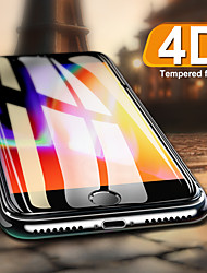 cheap -full cover screen protector for apple iphone 8 6s 7 6 glass x 4d curved tempered glass on the for iphone 6 s 7 8 plus x film