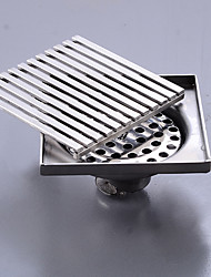 cheap -Floor Drain Stainless Steel Square Bathroom Shower Drainer Strainer Linear Covers Sink Linear Drain