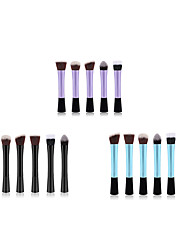 cheap -Professional Makeup Brushes 5pcs Soft New Design Full Coverage Lovely Comfy Plastic for Makeup Set Makeup Tools Makeup Brushes Blush Brush Foundation Brush Makeup Brush / #