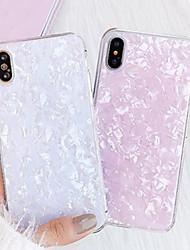 Недорогие -Кейс для Назначение Apple iPhone XR / iPhone XS Max / iPhone X Защита от пыли / Ультратонкий / Резервная копия Кейс на заднюю панель Цвет неба / Градиент цвета силикагель