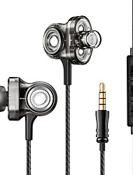 cheap -Z-YeuY I-INTO i8 Wired In-ear Earphone Wired Travel Entertainment Noise-Cancelling Stereo with Volume Control
