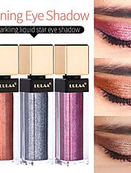 abordables -marque lulaa fard à paupières monochrome haute brillance liquide brillant métal durable maquillage pour les yeux