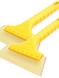 cheap -Car Snow Scraper Brush Defrosting Deicing Cleaning Tool