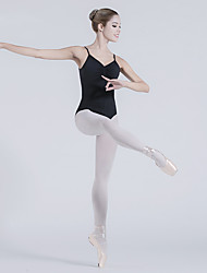cheap -Ballet Leotards Women's Training / Performance Nylon / Lycra Ruching Sleeveless Leotard / Onesie