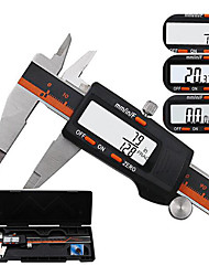 cheap -DANIU 150mm Stainless Steel LCD Screen Display Digital Caliper 6 Inch Fraction / MM / Inch High Precision Stainless Steel LCD Vernier Caliper