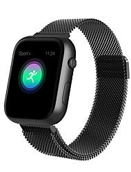 Недорогие -Смарт Часы Цифровой Современный Спортивные 30 m Защита от влаги Пульсомер Bluetooth Цифровой На каждый день На открытом воздухе - Черный Серебряный