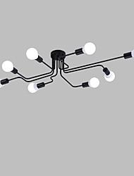 cheap -DengLiangZhiXin 8-Light Pendant Light Ambient Light Painted Finishes Metal Mini Style 110-120V / 220-240V Bulb Not Included / E26 / E27