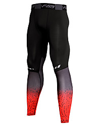 cheap -Men's Running Pants Track Pants Sports Pants Sports Winter Tights Compression Pants Running Fitness Gym Workout Bodybuilding Breathable Quick Dry Moisture Absorbent Spot Red Grey / High Elasticity