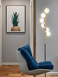 abordables -lampadaire créatif moderne lampe en verre dépoli lampe de personnalité lampe standard 6 lumières pôle haut pour salon étude bureau chambre éclairage de maison
