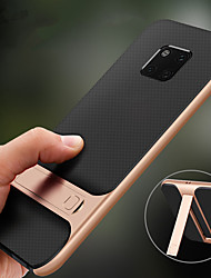 cheap -Holder Stand Case for Huawei Mate 20 Pro Mate 20 Lite Mate 20 Hard PC Soft TPU Shockproof Back Cover for Huawei Mate 10 Pro Mate 10