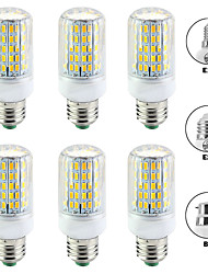 cheap -6pcs 15 W LED Corn Lights 1500 lm E14 B22 E26 / E27 T 96 LED Beads SMD 5730 New Design Warm White White 220-240 V 110-120 V