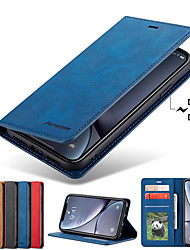 cheap -Forwenw Leather Case For Samsung Galaxy A70 A50 A40 A30 A20 A10 A90 A20E A7 2018 A8 2018 Phone Case Leather Flip Wallet Magnetic Cover With Card